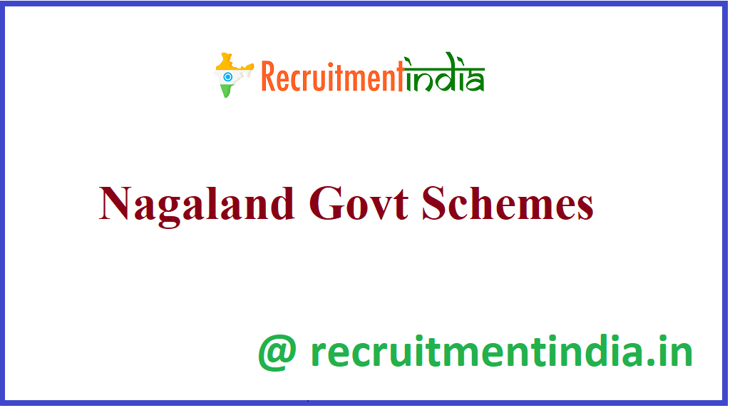 Nagaland Govt Schemes