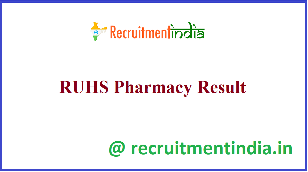 RUHS Pharmacy Result