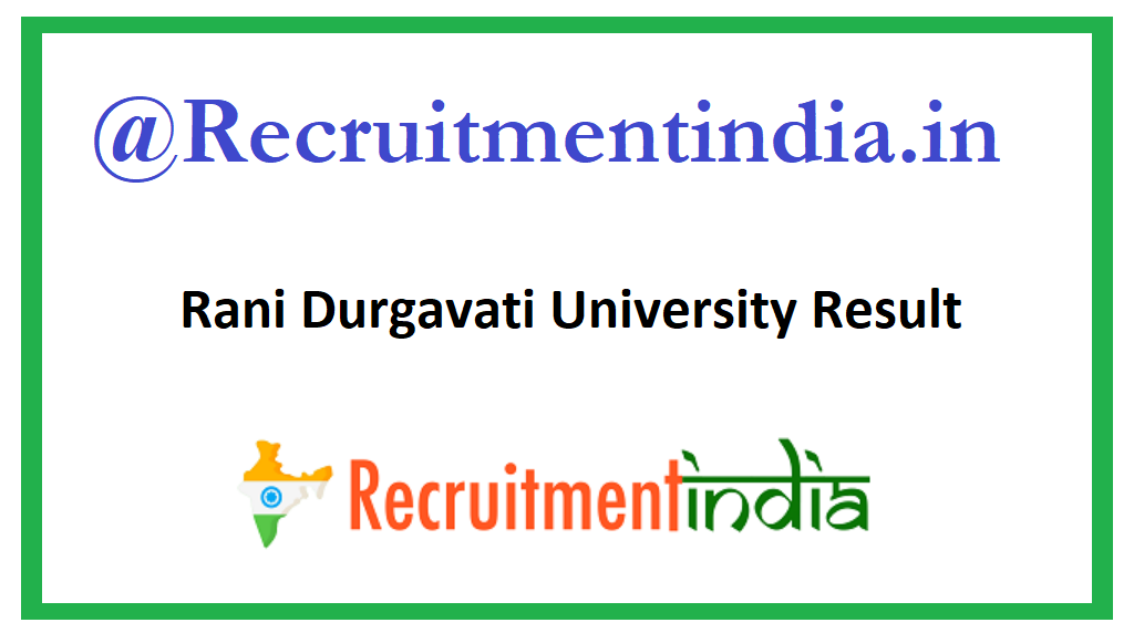 Rani Durgavati University Result