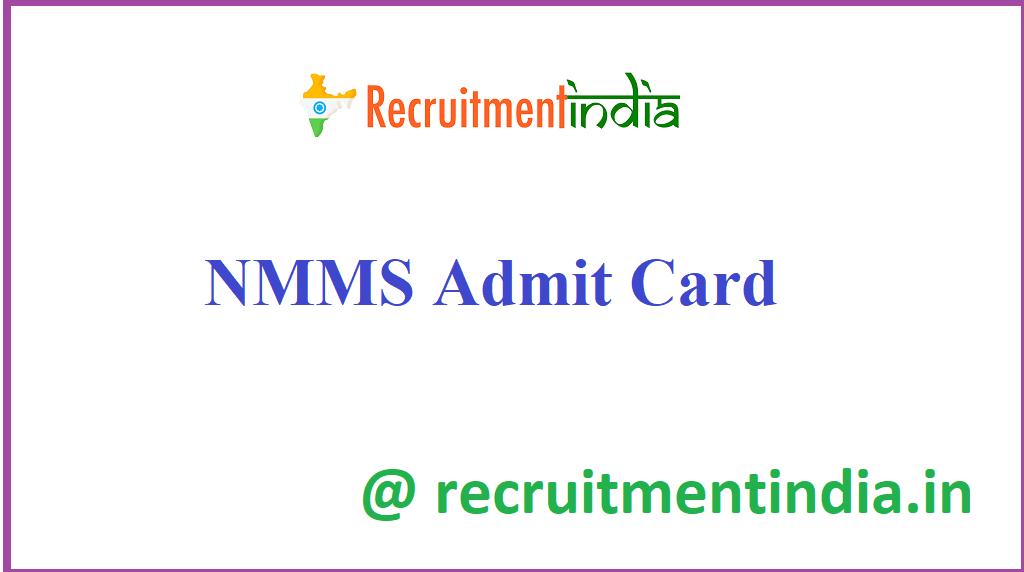 NMMS Admit Card
