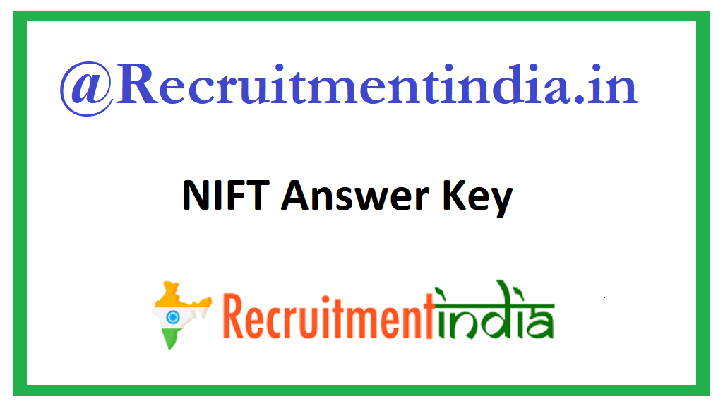 NIFT Answer Key