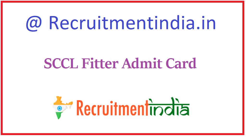 SCCL Fitter Admit Card