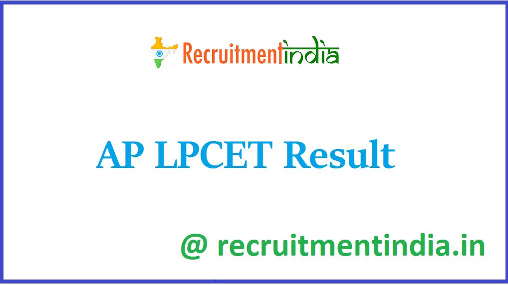 AP LPCET Result