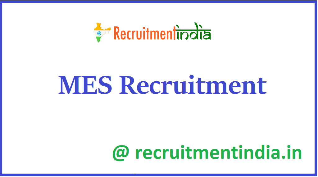 MES Recruitment