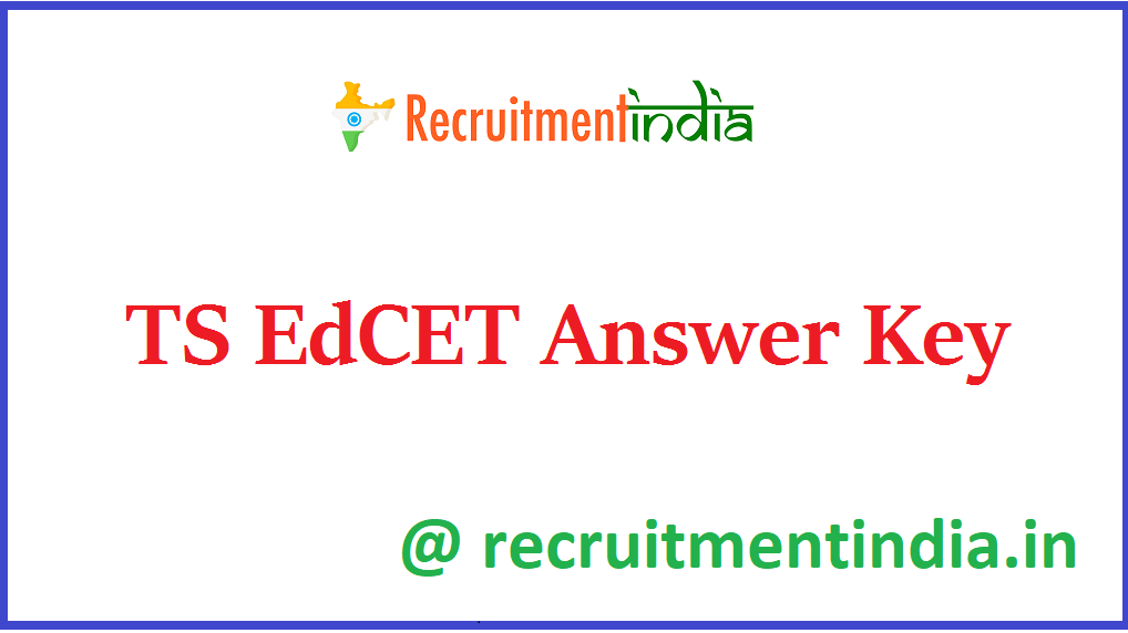 TS EdCET Answer Key
