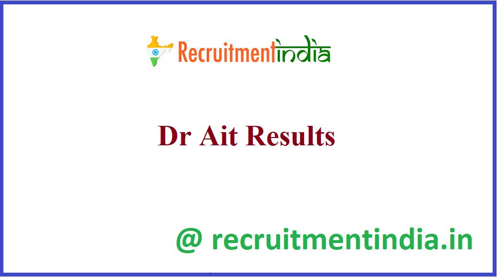 Dr Ait Results