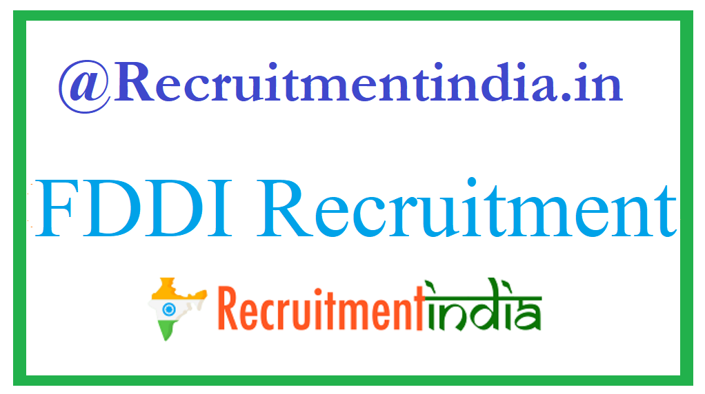 FDDI Recruitment