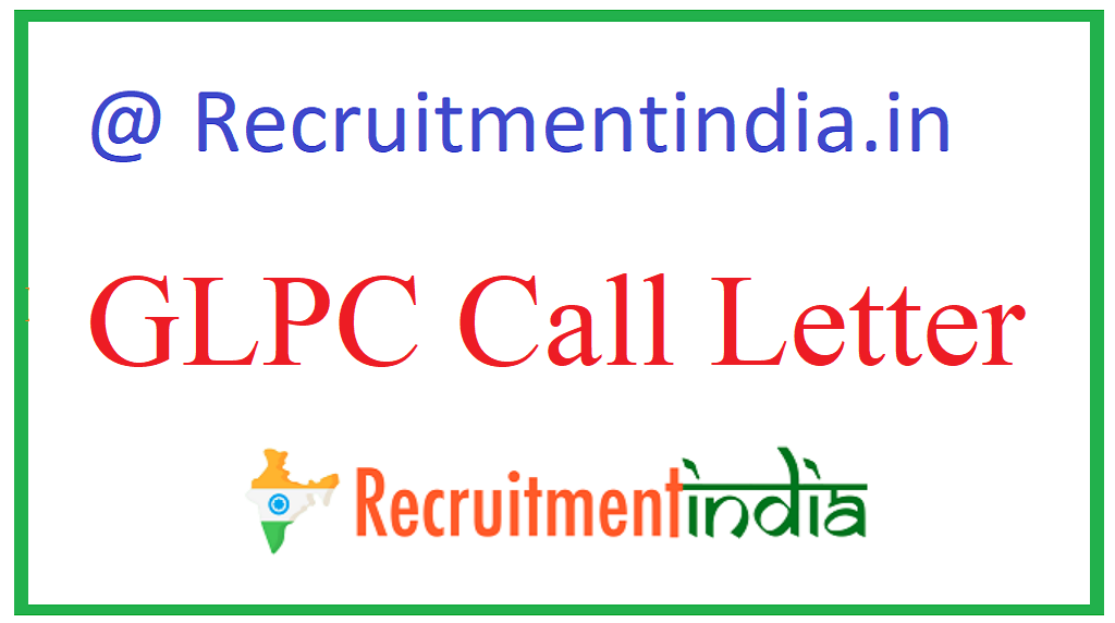GLPC Call Letter