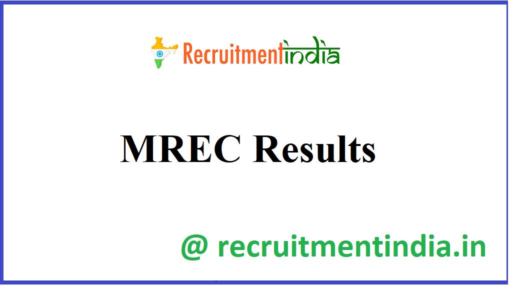 MREC Results