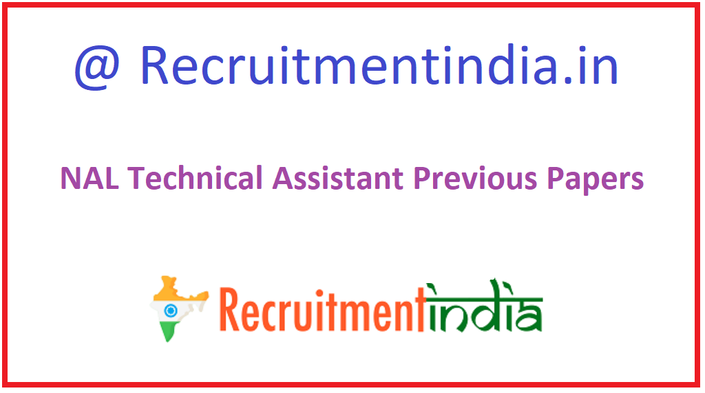 NAL Technical Assistant Previous Papers