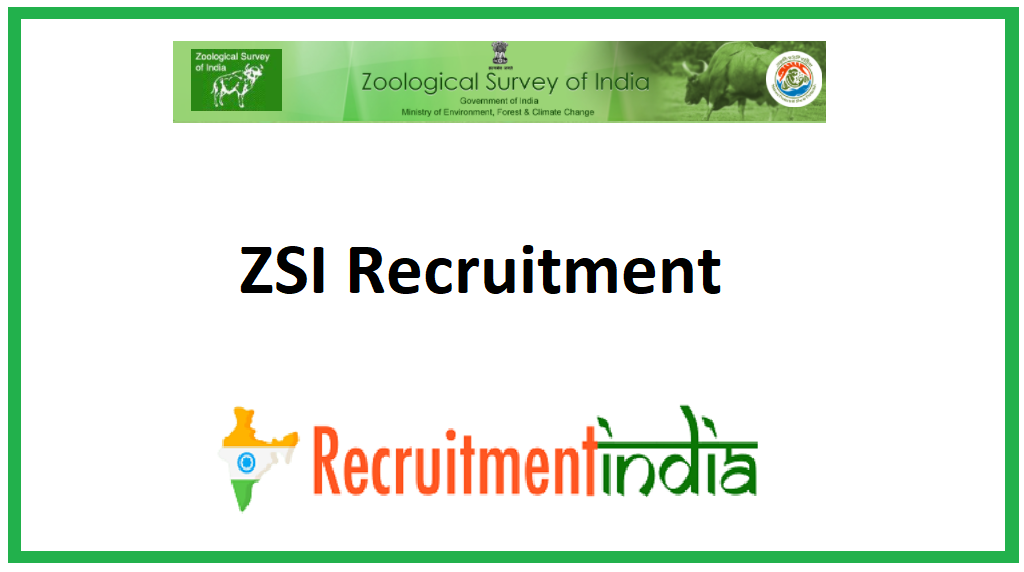 ZSI Recruitment