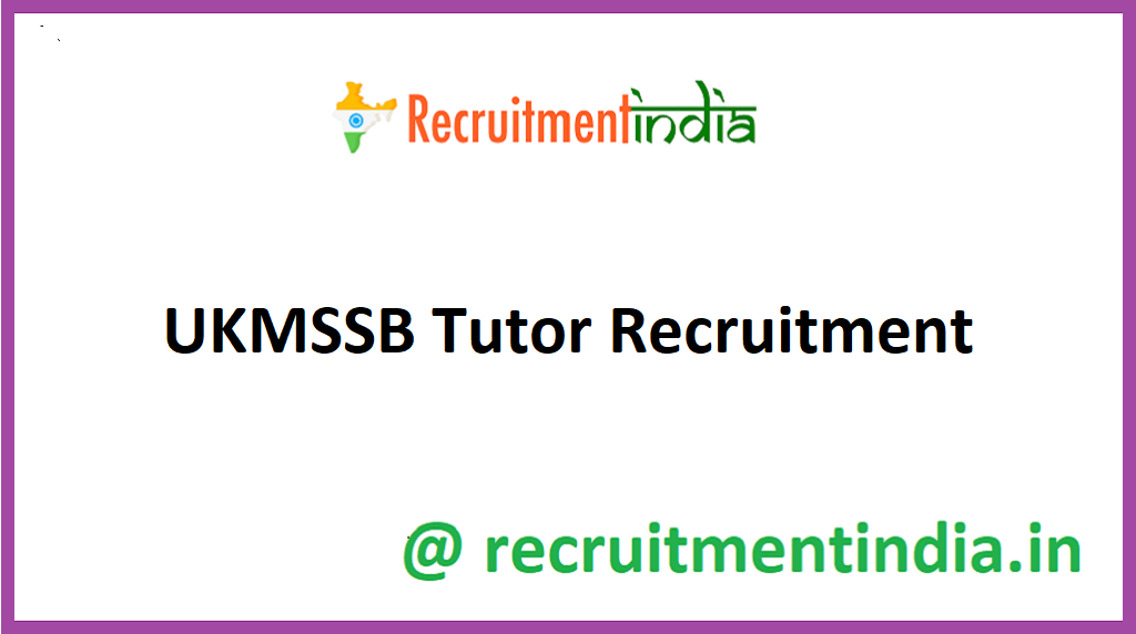 UKMSSB Tutor Recruitment