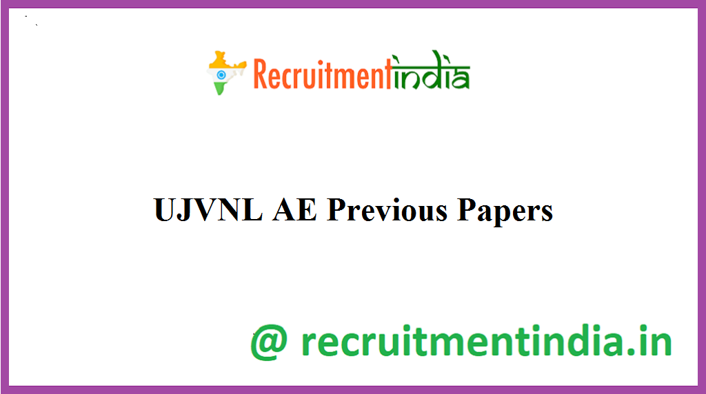 UJVNL AE Previous Papers