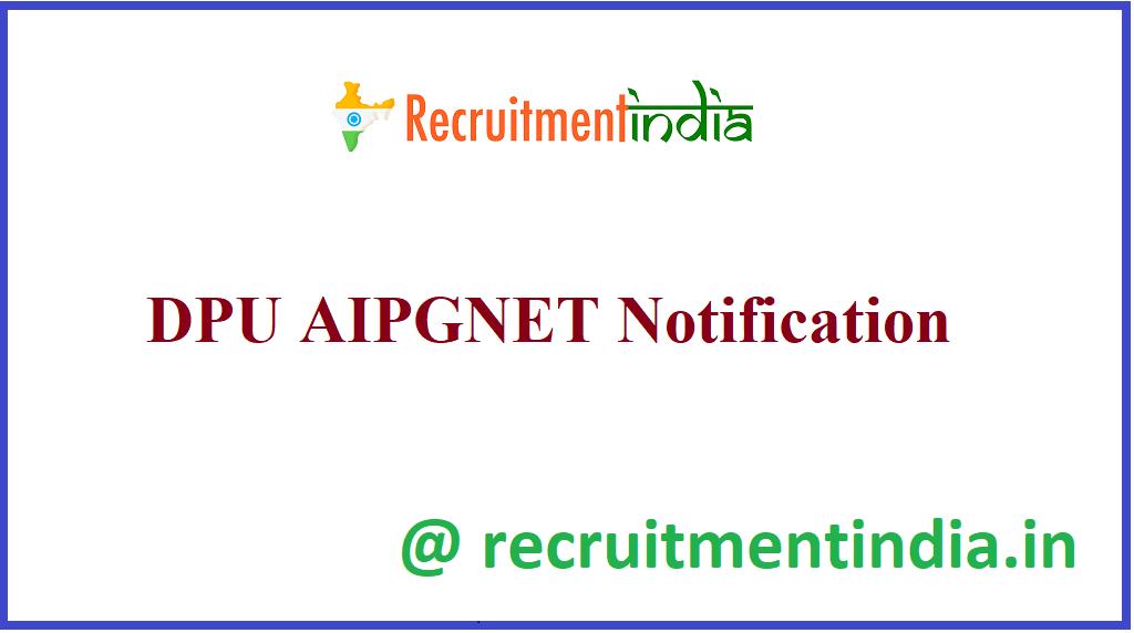 DPU AIPGNET Notification