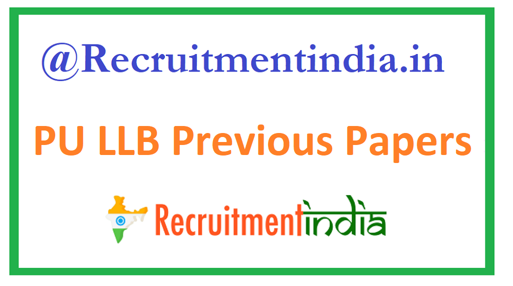 PU LLB Previous Papers
