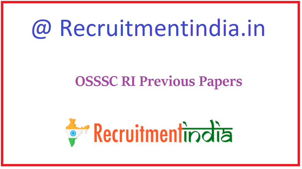OSSSC RI Previous Papers