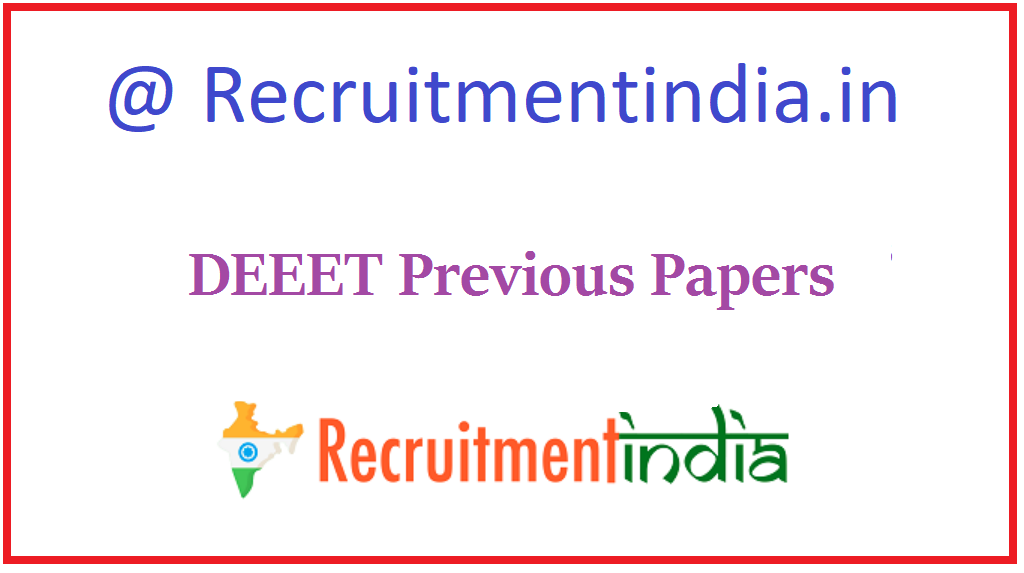 DEEET Previous Papers