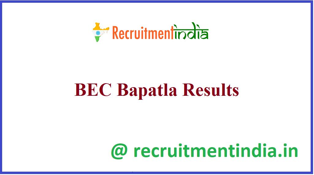 BEC Bapatla Results