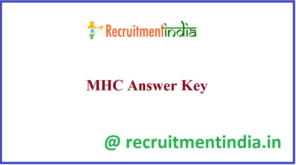 MHC Answer Key