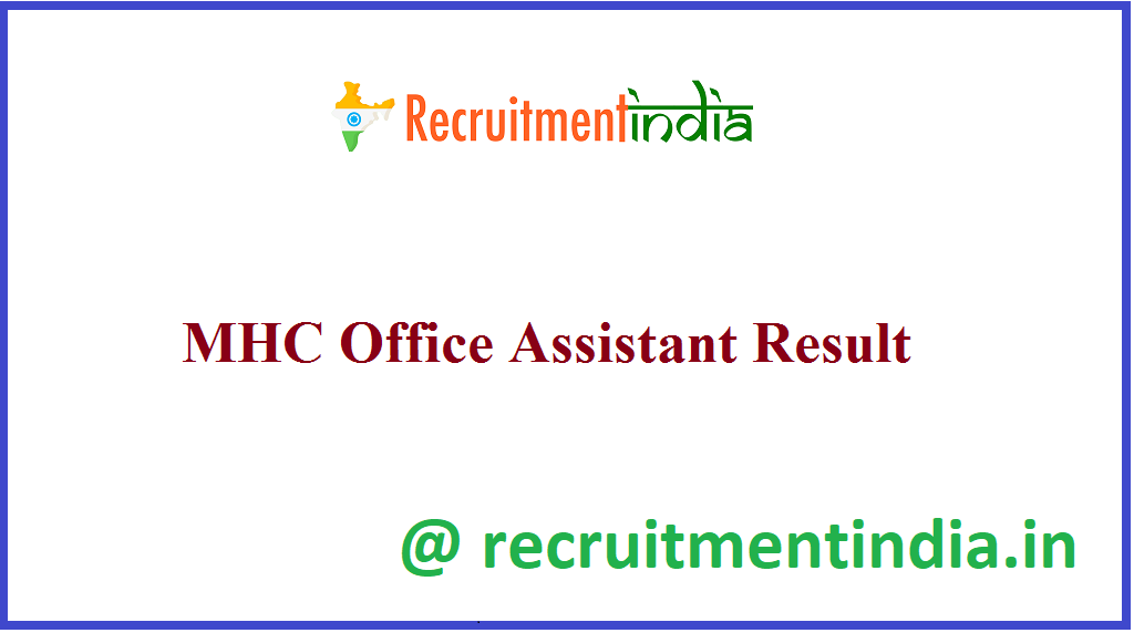 MHC Office Assistant Result