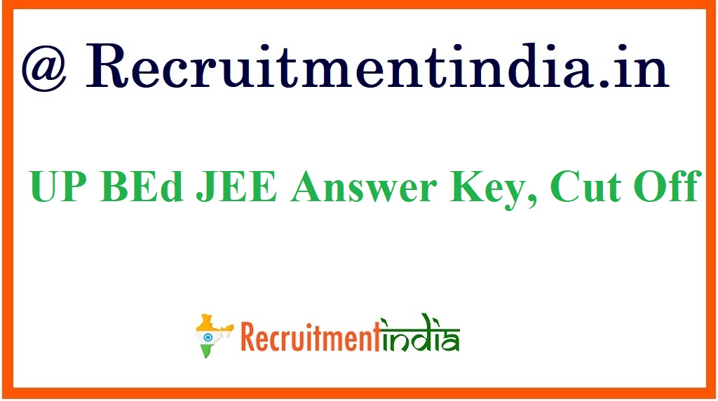 UP BEd JEE Answer Key
