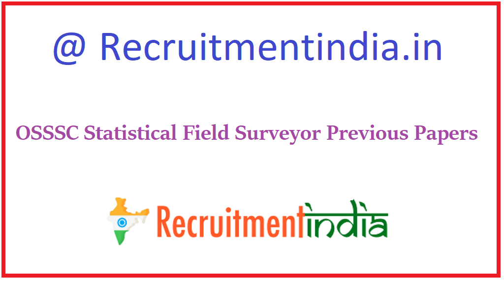 OSSSC Statistical Field Surveyor Previous Papers